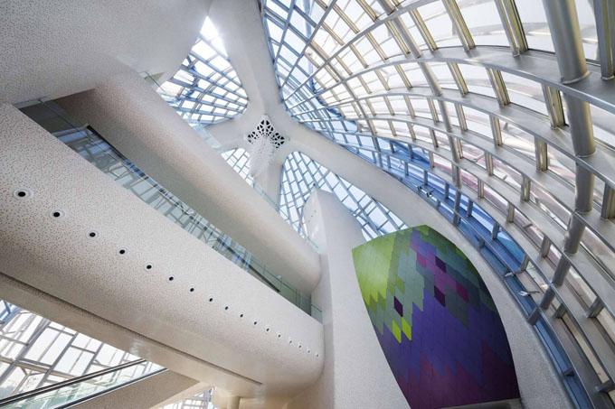 выставочный центр лотос в китае 7 (680x453, 266Kb)