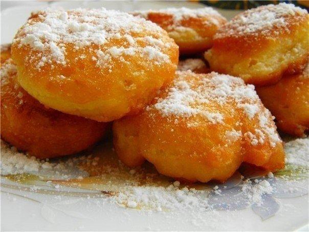 Воздушные пончики на кефире (604x453, 62Kb)