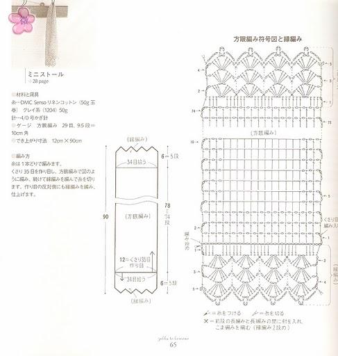 Весна шарф2 (487x512, 140Kb)