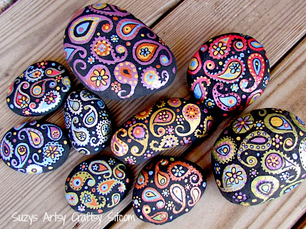 paisley-painted-stones5 (600x450, 521Kb)
