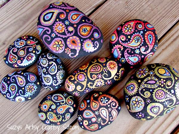 paisley-painted-stones5 (600x450, 521Kb)