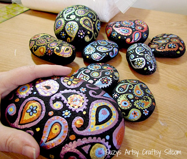 paisley-painted-stones2 (600x509, 456Kb)