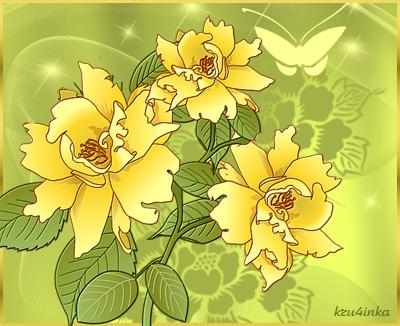 Желтые-цветы (400x326, 223Kb)