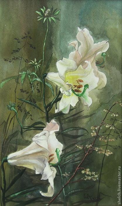 2cb8452693-kartiny-panno-kartina-belye-lilii-akvarel-n7946 (417x700, 349Kb)