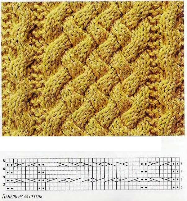 узоры косы жгуты и плетенки для вязания спицами