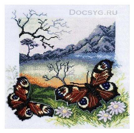 Значение вышивки бабочка
