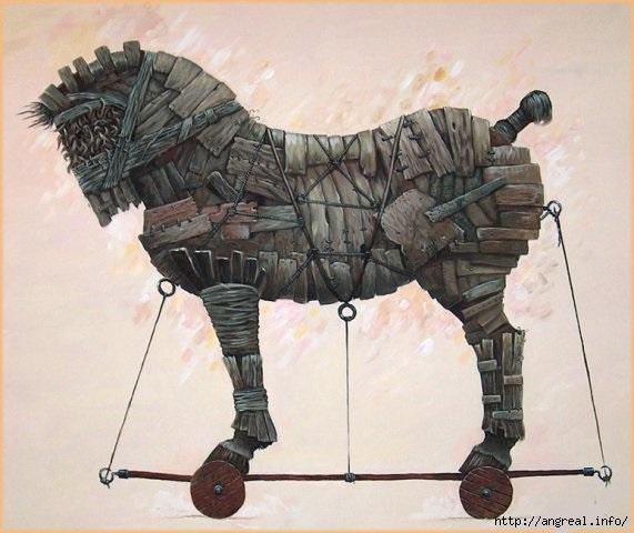 Троянский конь: военная хитрость и символ коварства