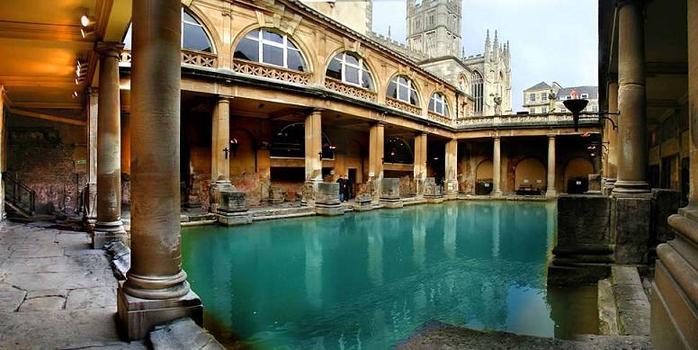 римские бани в английском городе бат 2 (700x350, 288Kb)