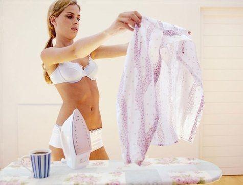 Отпариваем одежду правильно! Утюг с парогенератором.