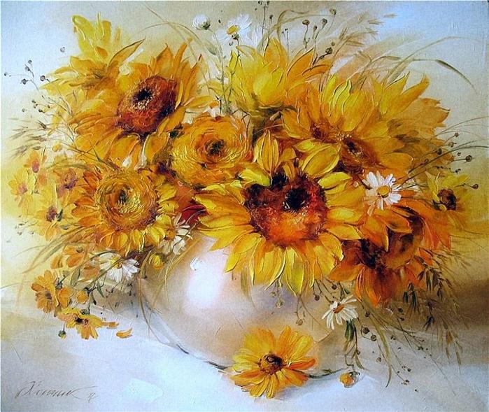 украинская художница анна хомчик картины 1 (700x589, 536Kb)