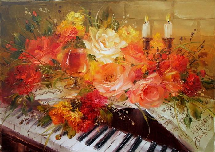 украинская художница анна хомчик картины 4 (700x496, 493Kb)