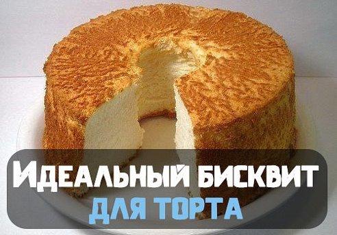 Идеальный бисквит для торта рецепт пошагово в домашних условиях