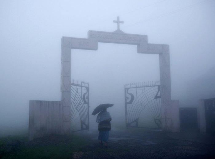 деревня Мегхалая индия 12 (700x518, 94Kb)