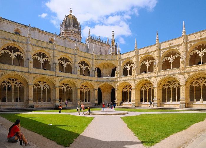 Монастырь Баталья португалия фото 6 (700x501, 447Kb)