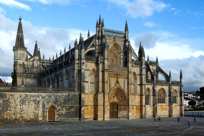 Монастырь Баталья португалия фото 14 (700x467, 426Kb)