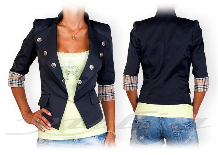 Украшение женского пиджака своими руками 33
