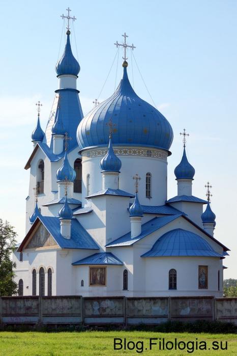 Церковь Рождества Христова в Петербурге на Московском шоссе