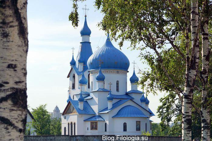 Церковь Рождества Христова в Петербурге в Пулковском парке