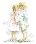 Превью Lanarte 33-666-Afbl_Дети поздравительный поцелуй (400x485, 130Kb)