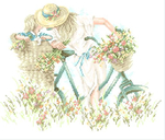 Превью Lanarte34189 мама РЅР° велосипеде (515x440, 203Kb)
