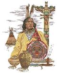 Превью Lanarte34627-North_American_Culture  Вождь племени (330x415, 193Kb)