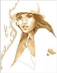 Превью Lanarte 93121 Портрет- коричневым (347x445, 98Kb)