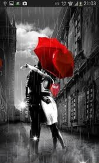Смайлик ВК  Зонтик с каплями дождя Код картинка и