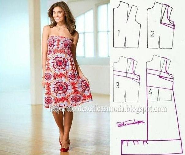 платье выкройка5 (604x506, 203Kb)