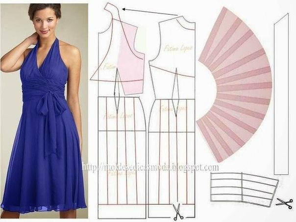 платье выкройка12 (604x452, 155Kb)