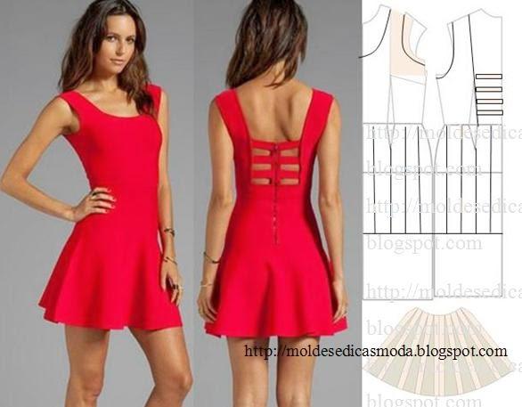 платье выкройка14 (586x457, 155Kb)