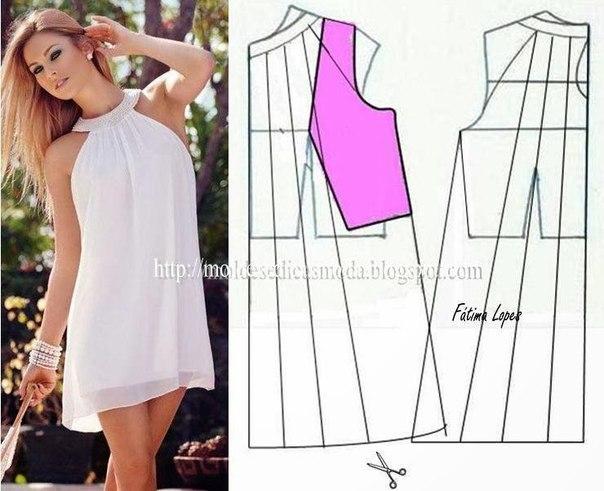 платье выкройка18 (604x491, 189Kb)