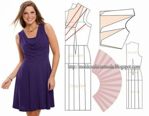 платье выкройка20 (604x472, 149Kb)