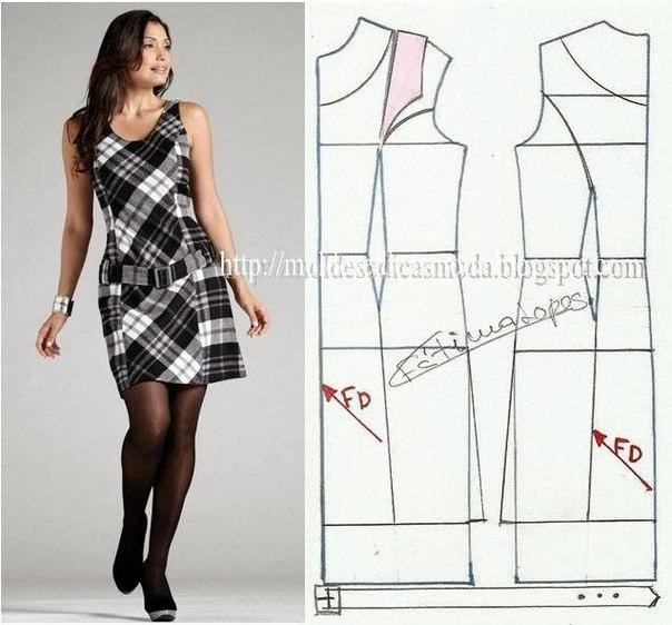 платье выкройка24 (604x562, 185Kb)