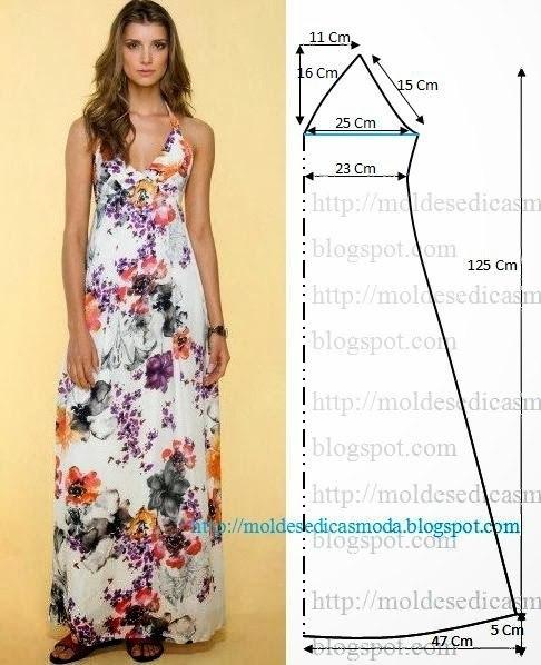 платье выкройка31 (486x598, 197Kb)