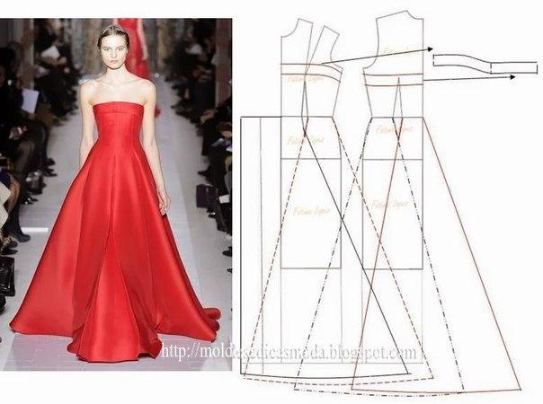 платье выкройка41 (604x450, 150Kb)