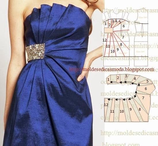 платье выкройка44 (550x508, 212Kb)
