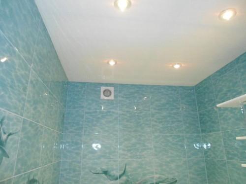Потолок в ванной комнате. Ожидания и реальность.