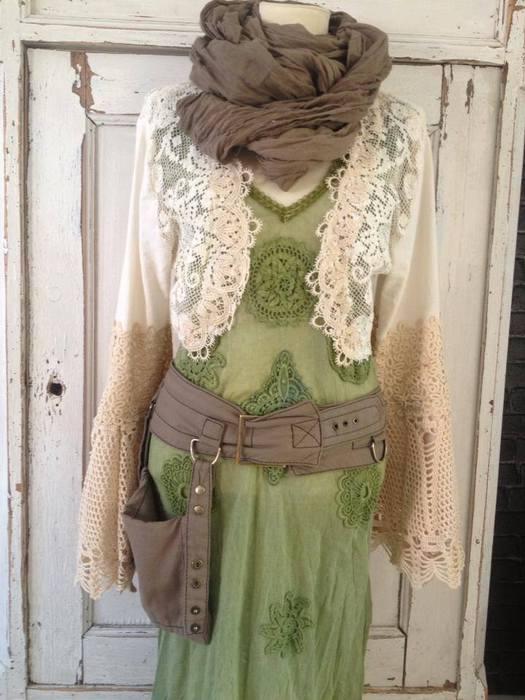 Earthy-green-dress-by-Rawrags (525x700, 56Kb)