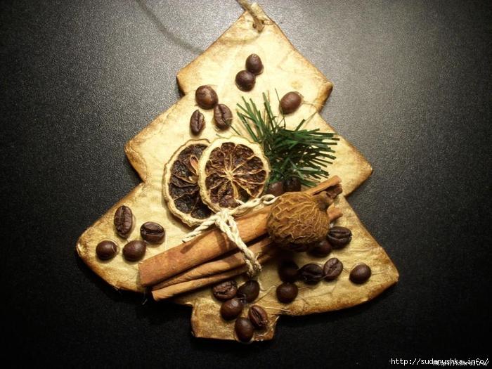 Кофейные сувениры к новому году