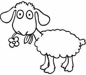 трафареты овечек, шаблоны  обвечек, трафареты для рисования овечек, шаблоны для рисования овечек.  Хьюго Пьюго рукоделие, раскраски для детей, детские раскраски, раскраска овечка, раскраска барашек,