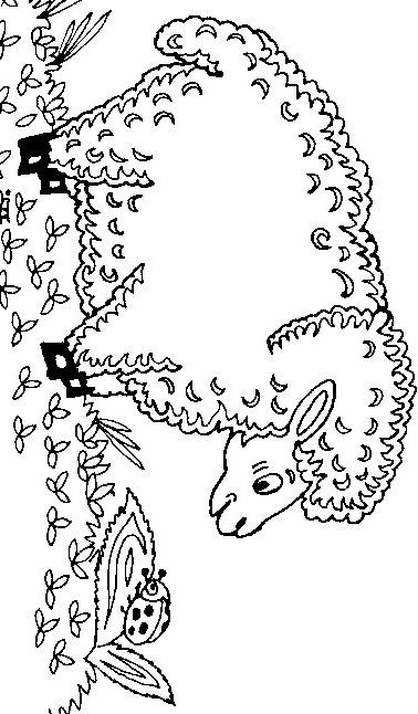 Раскраски козлик