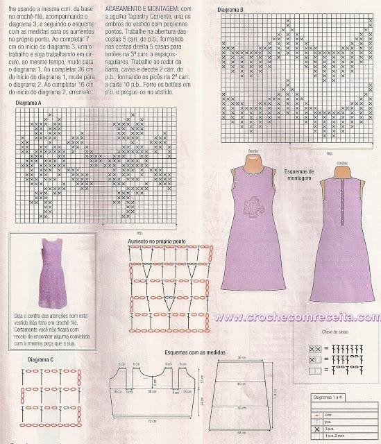 vestido lilГЎs graficos  em croche com receita (549x640, 355Kb)