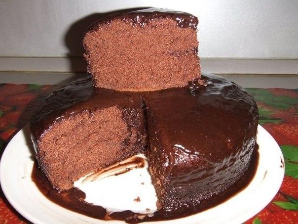 Шоколадное кухэ в мультиварке (604x453, 69Kb)