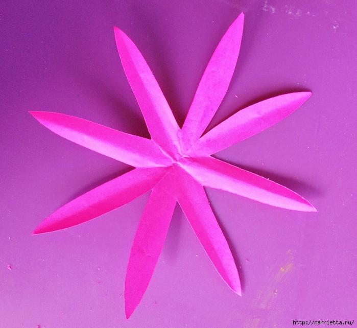 Цветы из мешковины - Эхинацея Пурпурная. Мастер-класс (13) (700x642, 296Kb)