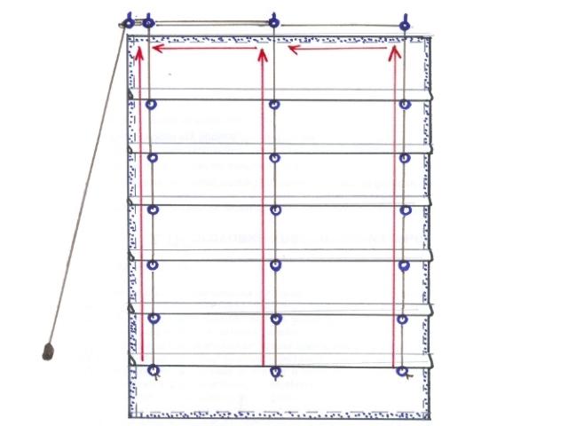 Как из жалюзи сделать римские шторы своими руками