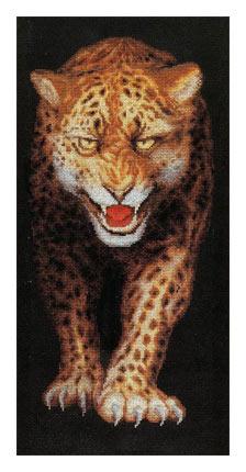 схема вышивки леопард (224x430, 71Kb)