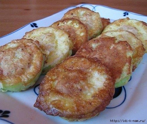 как вкусно приготовить кабачки, рецепт вкусных кабачков с мясом, кабачки с мясом в кляре,