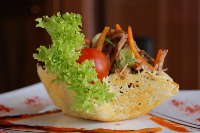Ресторанные салаты рецепты фото