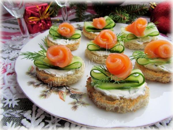 Новые вкусные закуски на праздничный стол рецепты простые