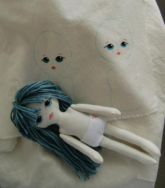 Сшить куклу из ткани своими руками